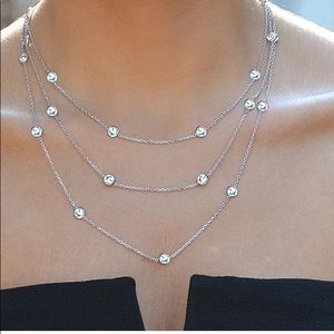 """Jewelry - """"diamond by the yard"""" look necklaces"""